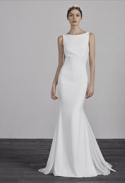 Trouwjurk Modern.Pronovias Enol Trouwjurk Valkengoed Wedding Fashion