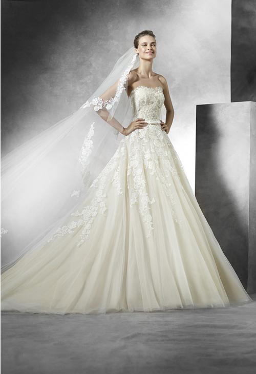 trouwjurk Pronovias Trey a Art.26148
