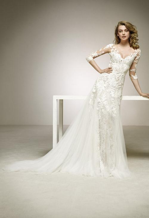 Pronovias Dalina Valkengoed Wedding Fashion